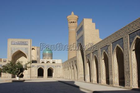 kalon mosque bukhara uzbekistan