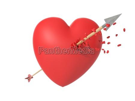 smitten heart in love at first