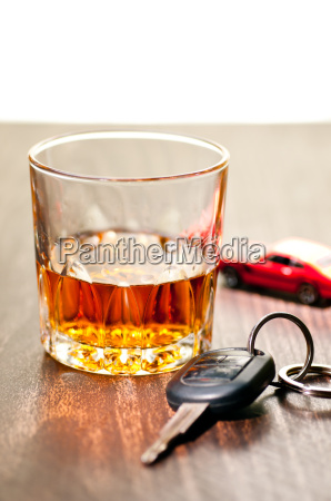 whiskey neat with a car key