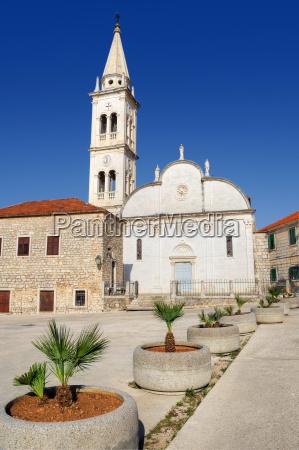 church of st mary jelsa hvar