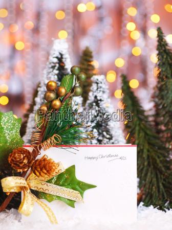 happy holiday christmas card