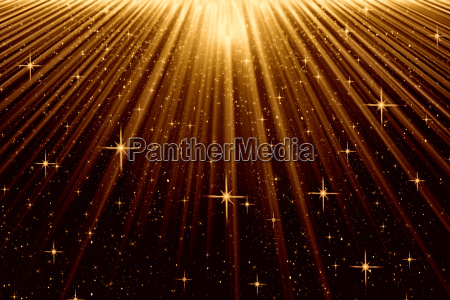 moody background with beams and stars