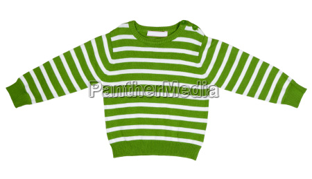 green striped sweater for children
