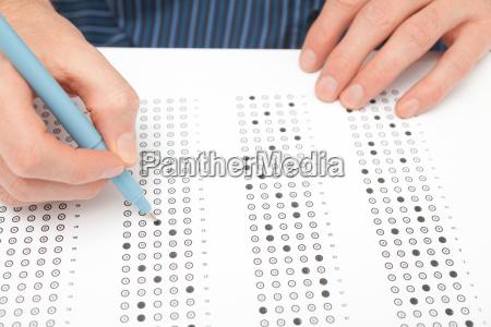 student test exam