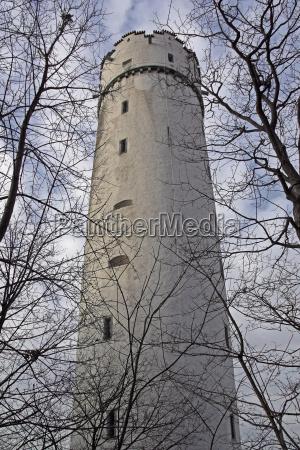 white tower in ravensburg
