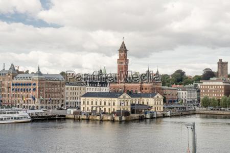 el puerto de helsingborg