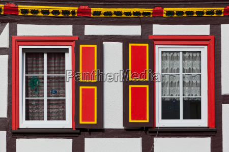 half timbered houses guentersberge in the