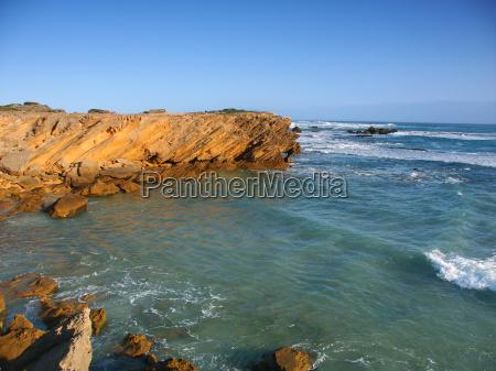 rocky coast in victoria australia