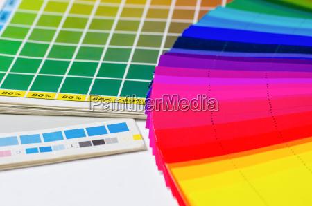 colour value book and color fan
