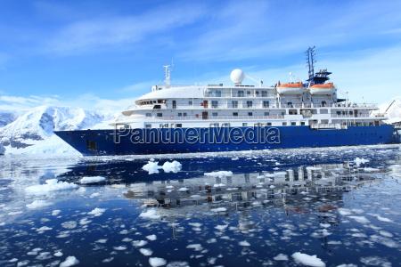 cruising in antarctica