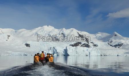 in antarctica
