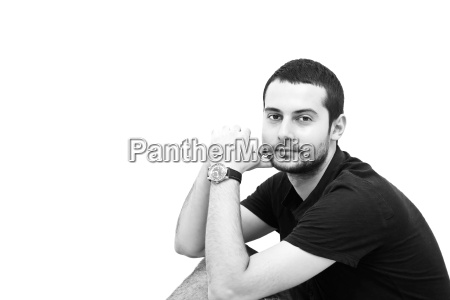 young man portrait
