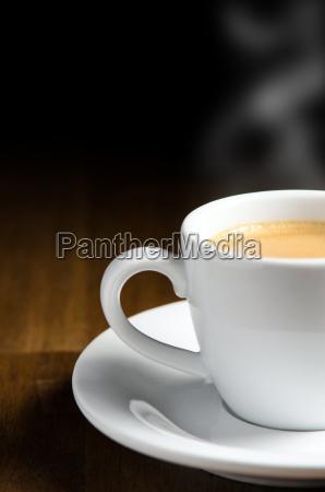 espresso with copy space