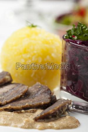 rhenish sour roast marinated beef