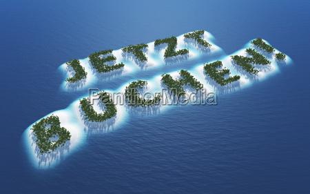 book now island concept
