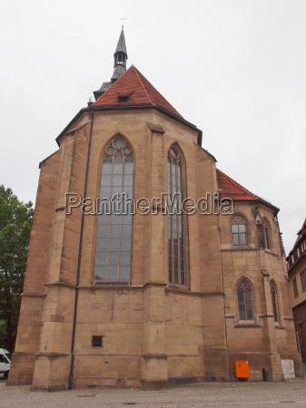stiftskirche church stuttgart