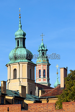 towers of the old town churches