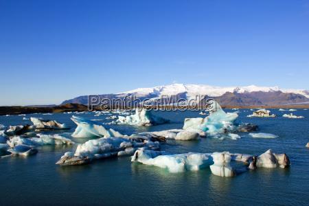 joekulsarlon glacier lagoon in iceland