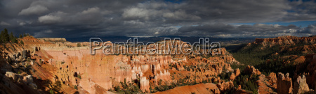 panorama of bryce canyon