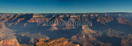 panorama of the grand canyon south