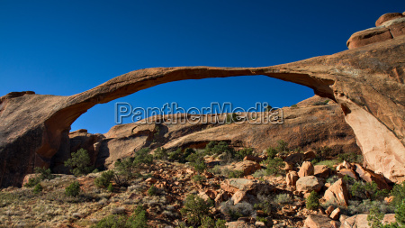 panorama of landscape arch