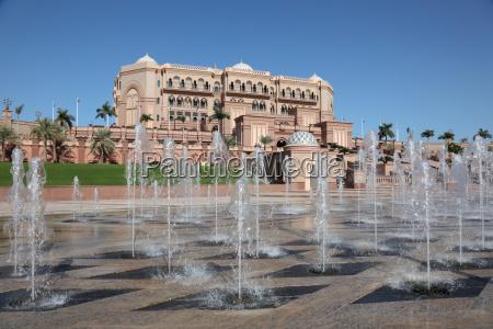 emirates palace in abu dhabi united