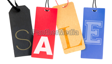 sale sign isolated tag fashion retail