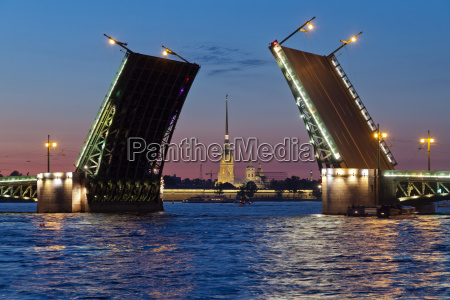 peter and paul fortress and open