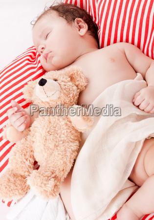 sweet little baby toddler newborn sleeping