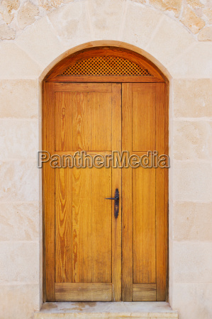 door of a house entrance
