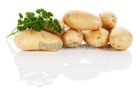 potatoes with parsley