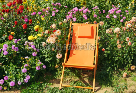 relaxation in the garden relax