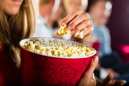 popcorn at the movies