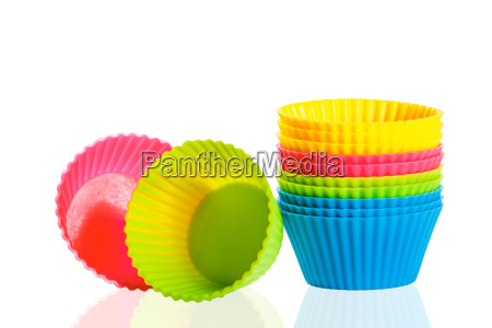 baking silicone cups for cupcakes or