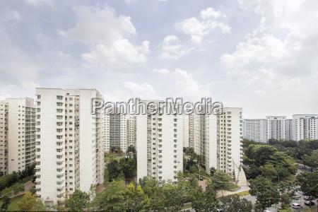 singapore apartment housing