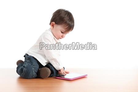 schaetzchen das mit einer digitalen tablette