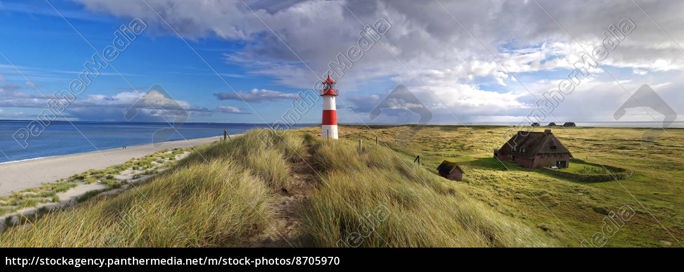 scenics, with, lighthouse, on, sylt - 8705970