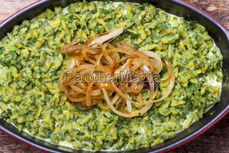 spinach spaetzle a bavarian specialty