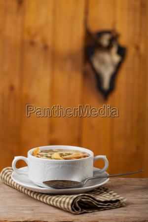 bavarian pancake soup