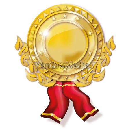medallion gold medal
