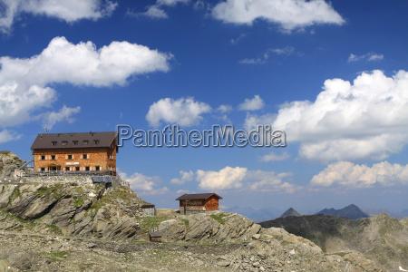 szczecin hut in the south tyrolean