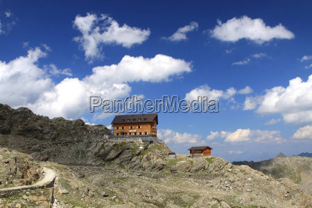stettiner hut in the south tyrol