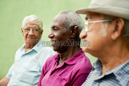 group of old black and caucasian