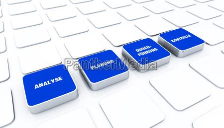 pad concept blue analysis planning