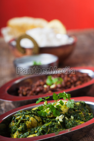 indian murgh palak curry court