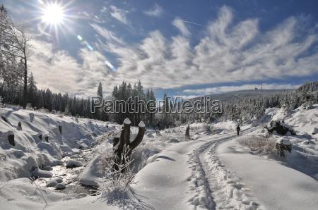 winter hike to the brocken