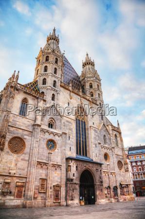 st stephens cathedral in vienna austria