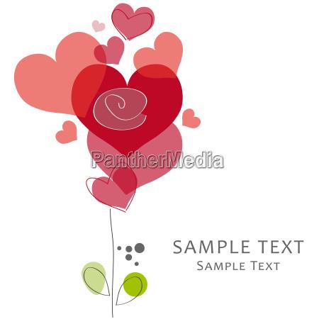 greeting card love valentine heart