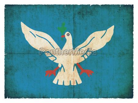grunge flag salvador de bahia brazil