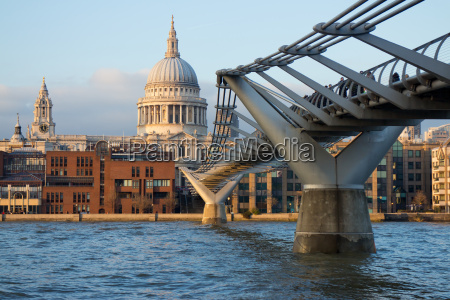 view of st pauls cathedral and